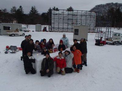 十和田湖冬物語 雪像作り 報告