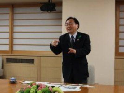 4月13日 青森県表敬訪問